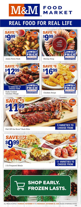 M&M Food Market Flyer - 11/19-11/25/2020
