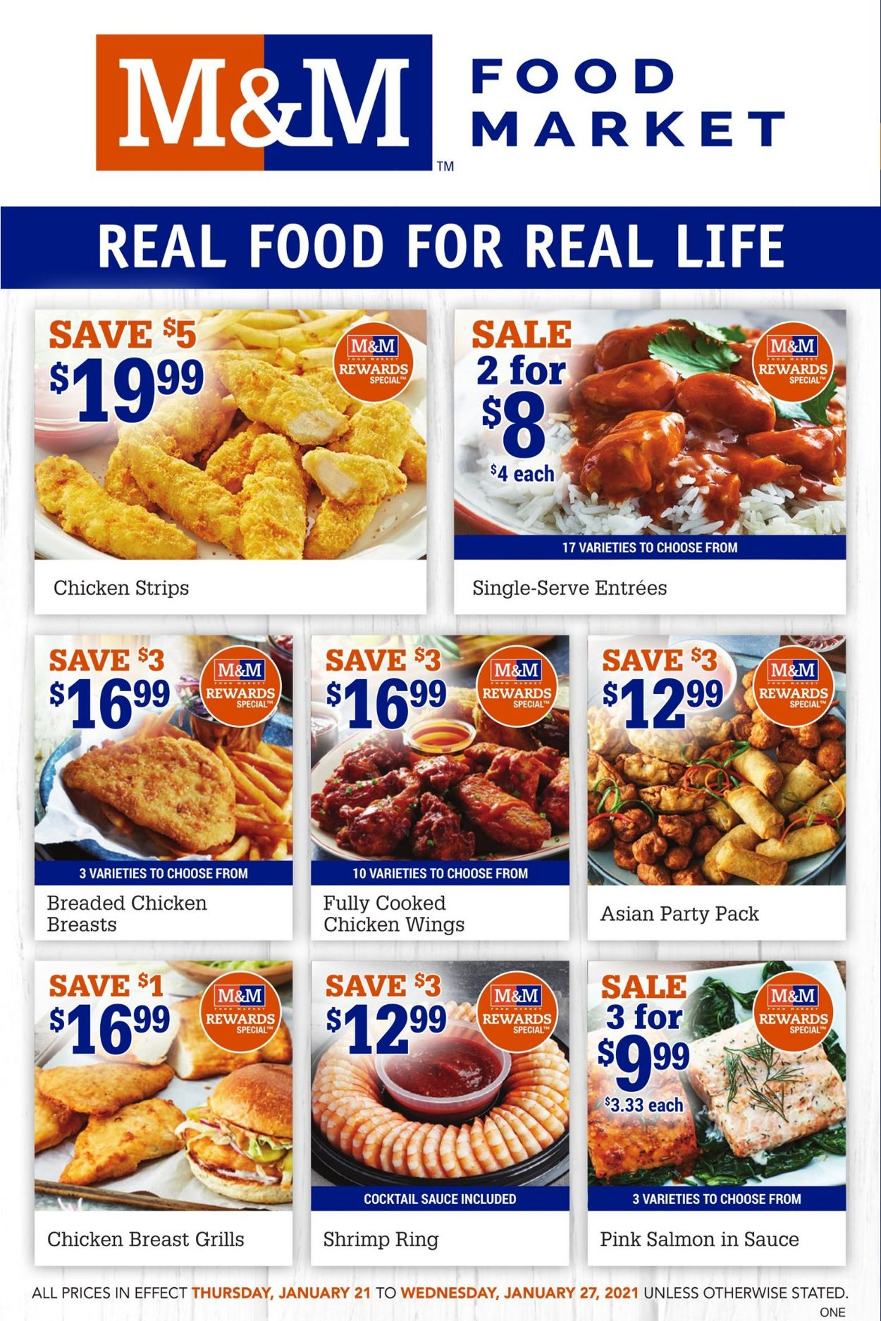 M&M Food Market Flyer - 01/21-01/27/2021