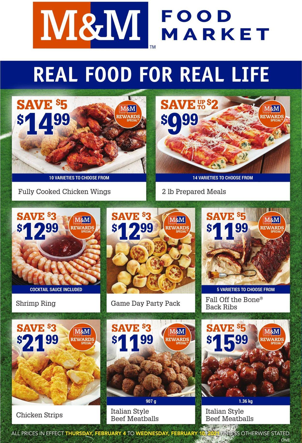 M&M Food Market Flyer - 02/04-02/10/2021