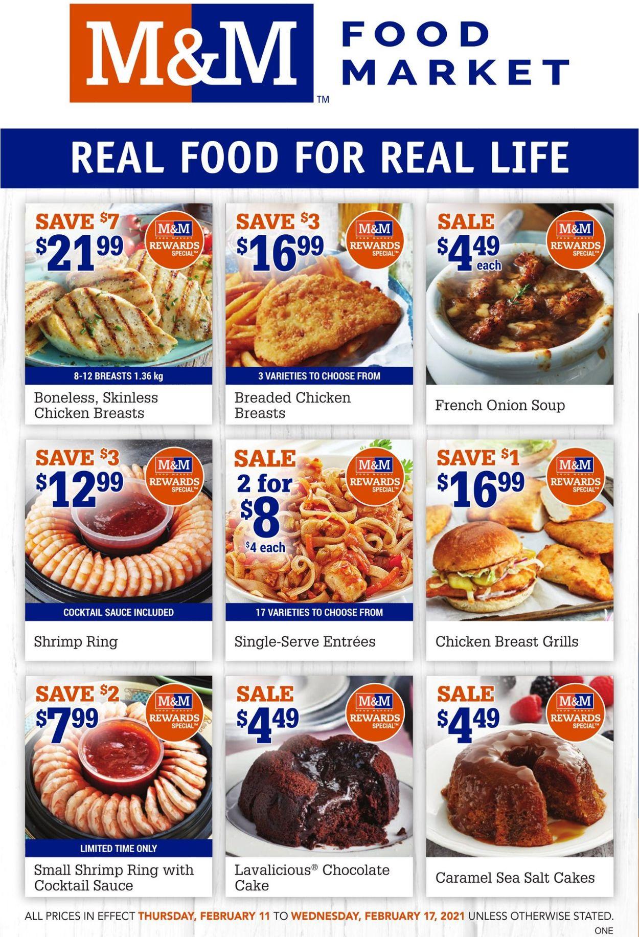 M&M Food Market Flyer - 02/11-02/17/2021