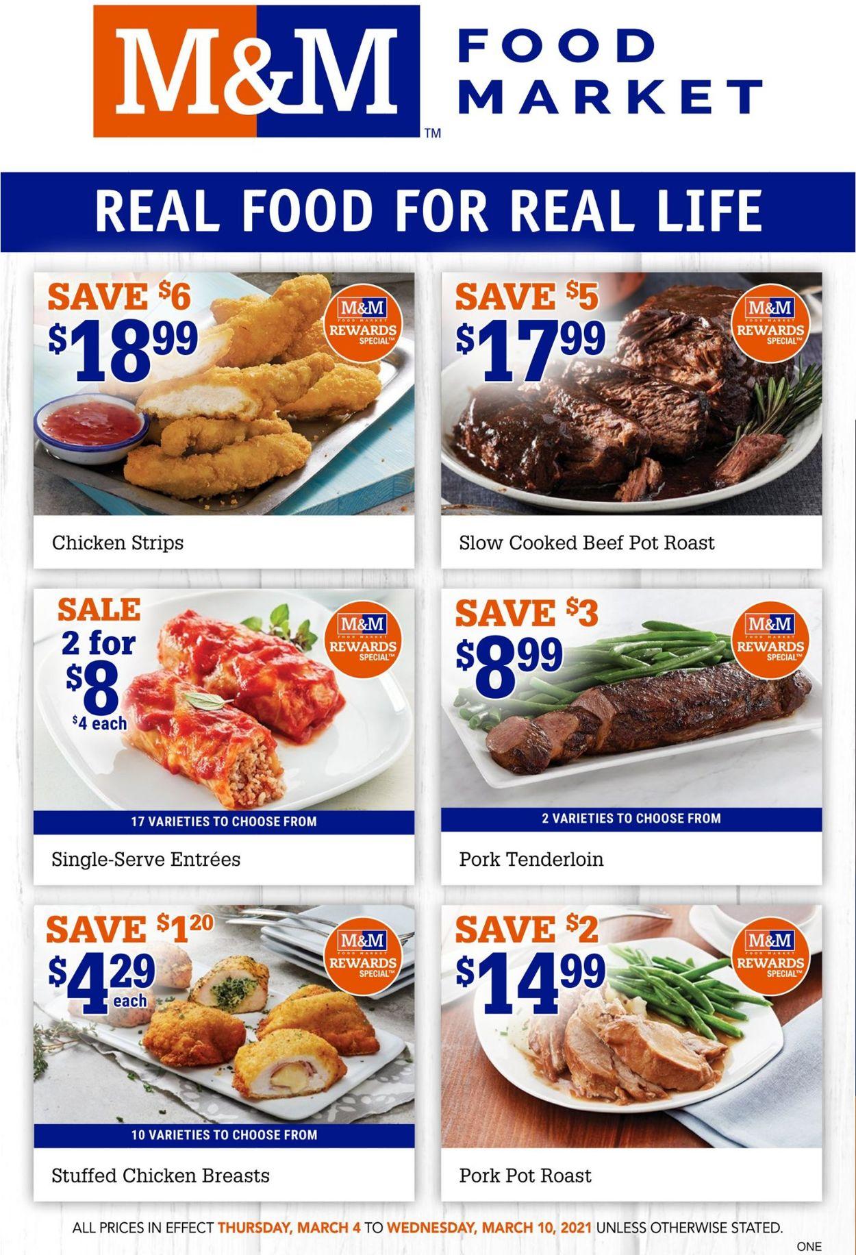 M&M Food Market Flyer - 03/04-03/10/2021