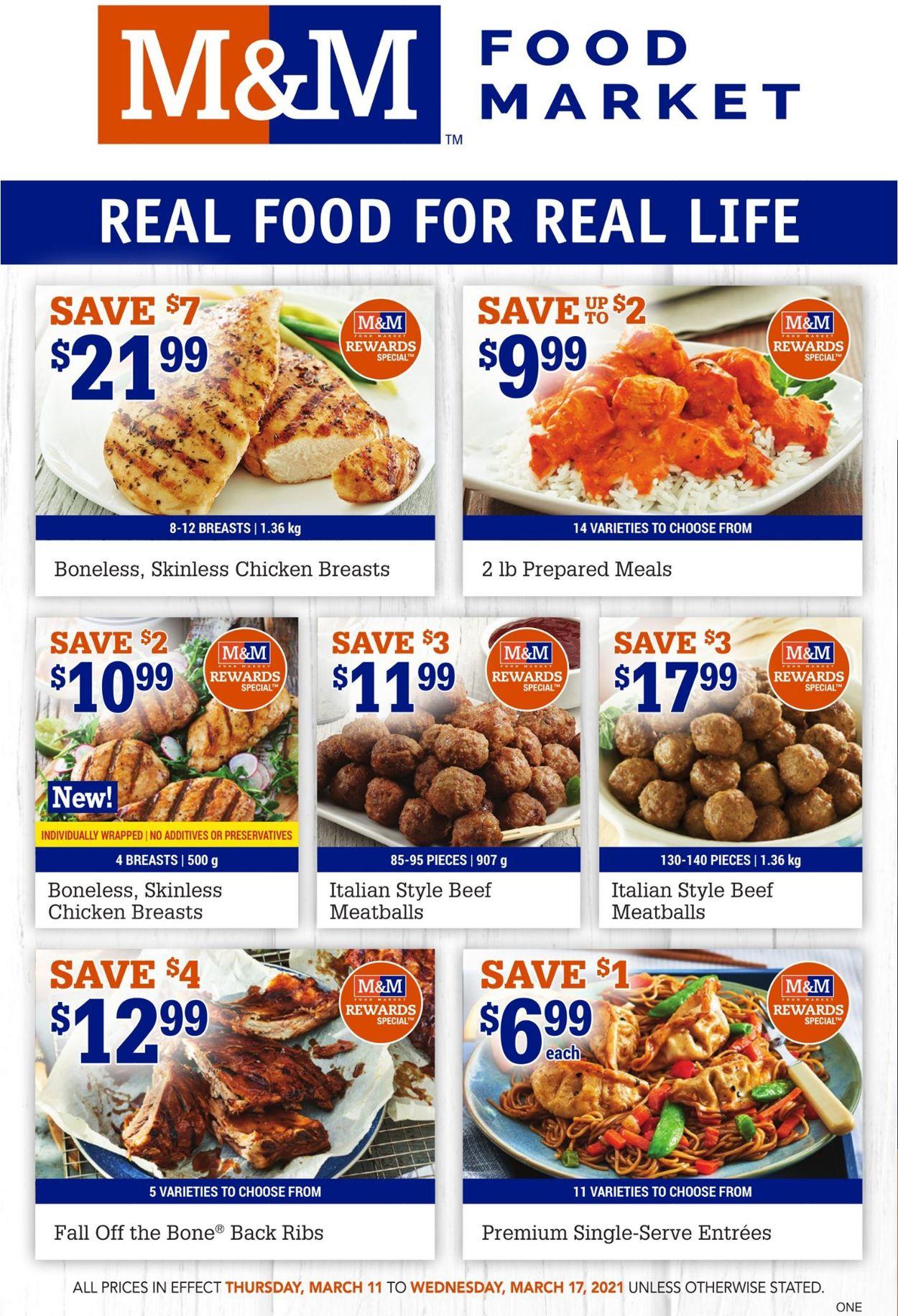 M&M Food Market Flyer - 03/11-03/17/2021