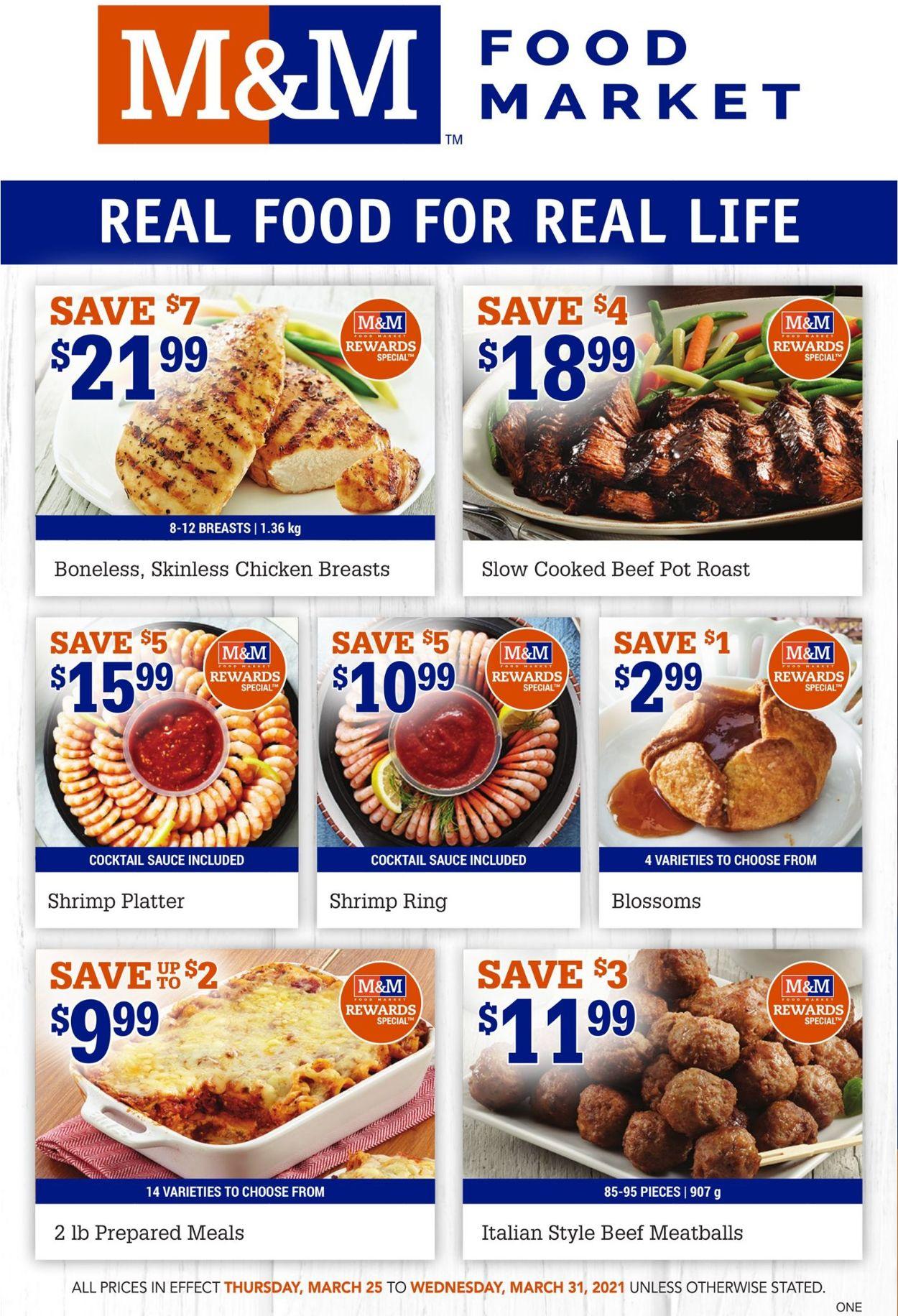 M&M Food Market Flyer - 03/25-03/31/2021