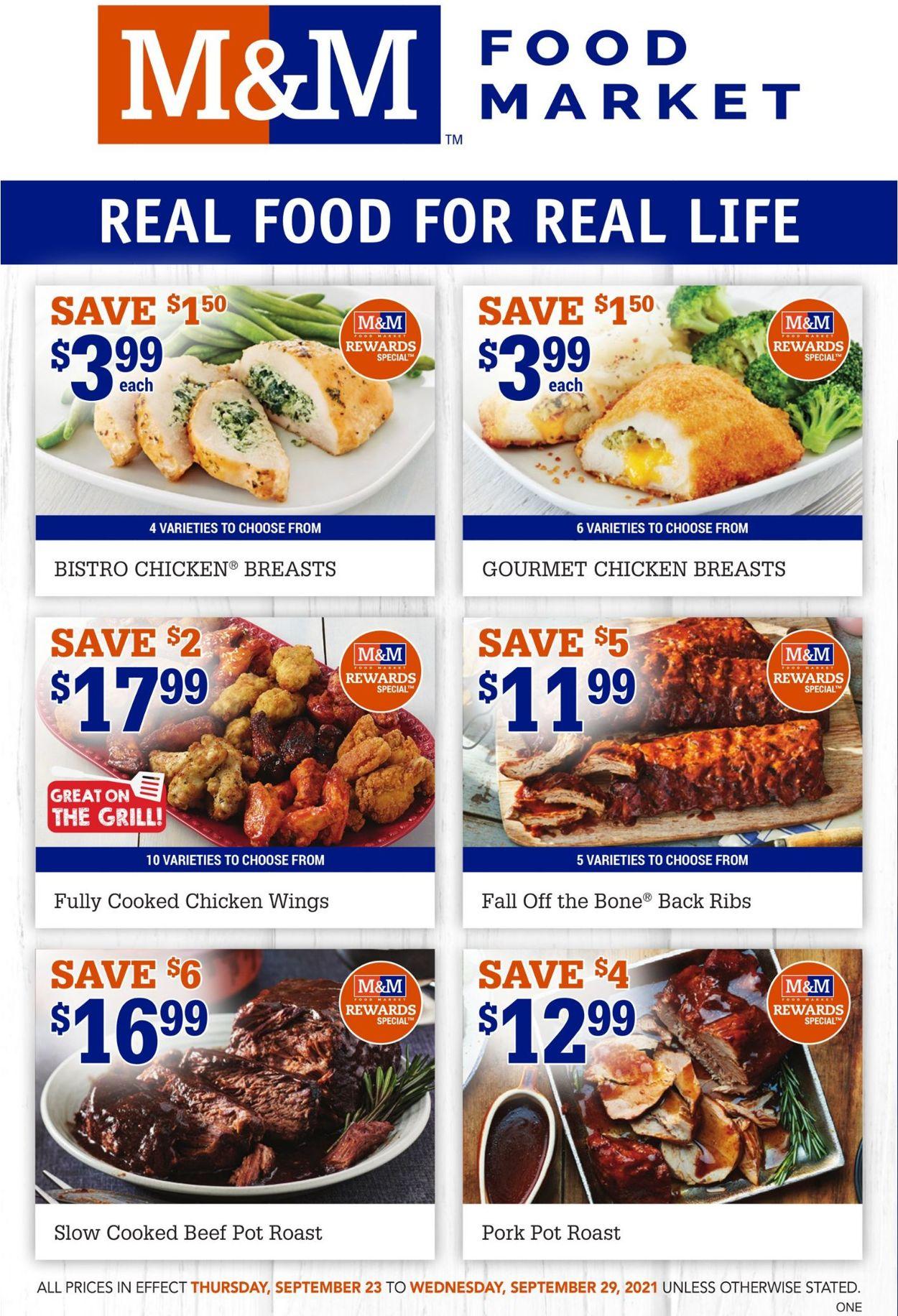 M&M Food Market Flyer - 09/23-09/29/2021