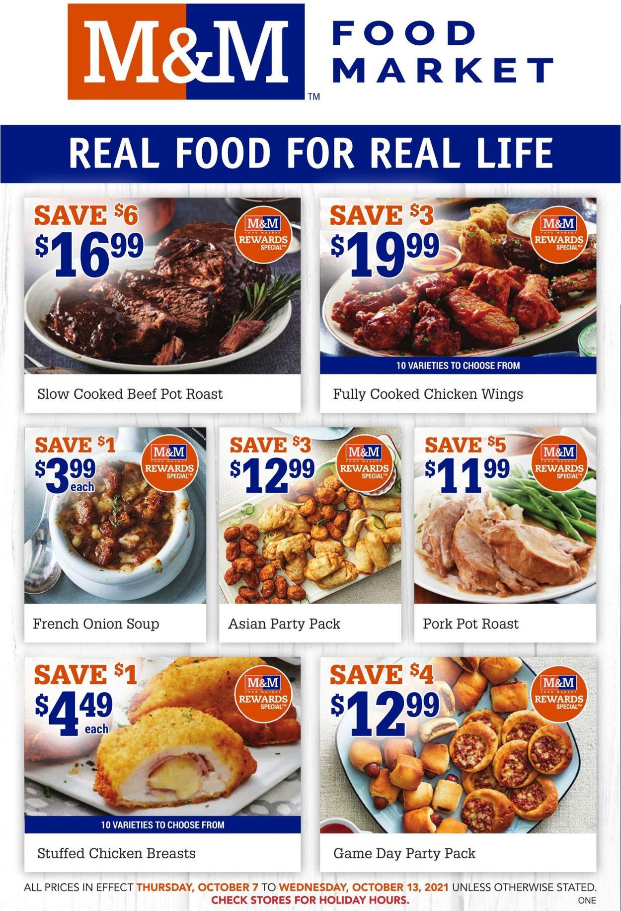 M&M Food Market Flyer - 10/07-10/13/2021