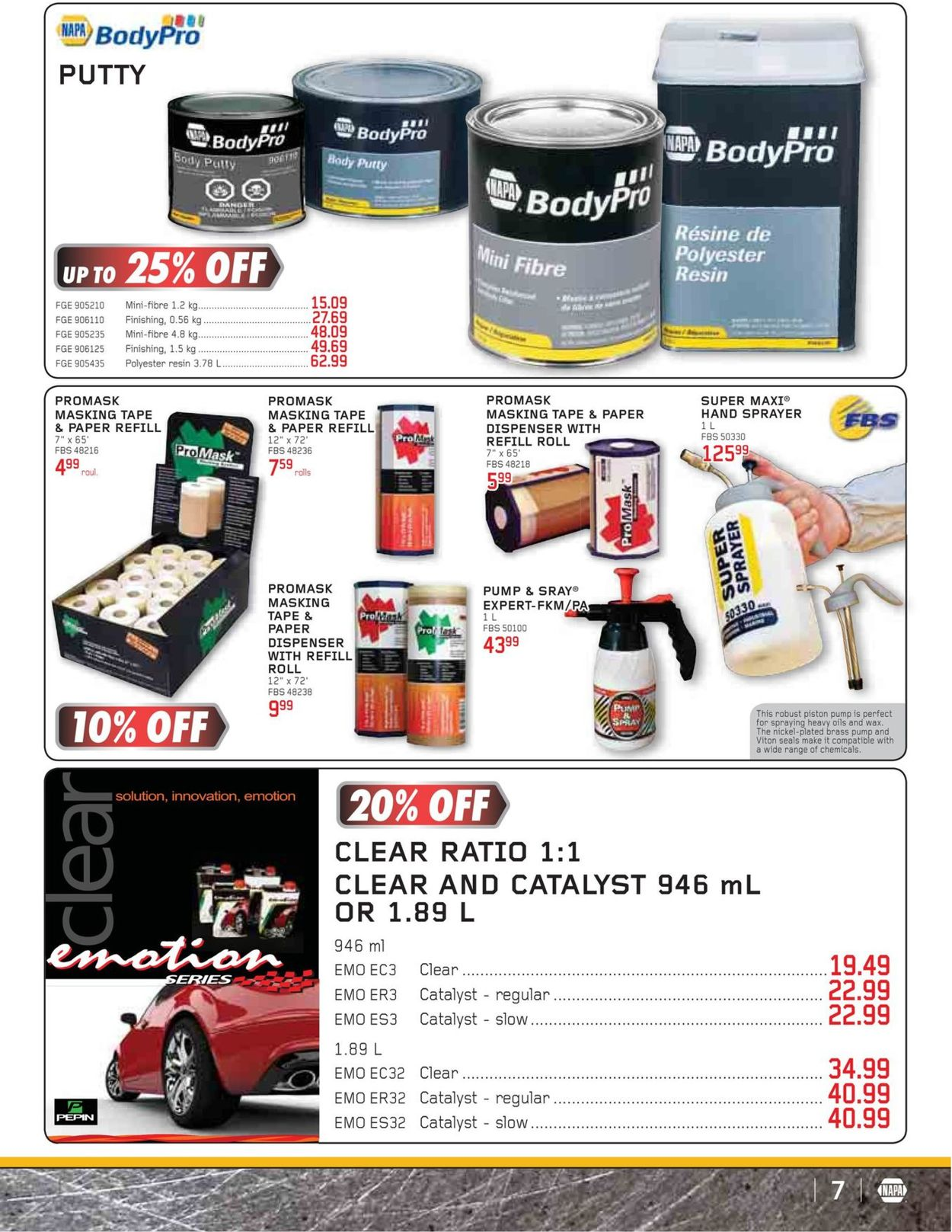 NAPA Auto Parts Flyer - 03/01-04/30/2020 (Page 7)
