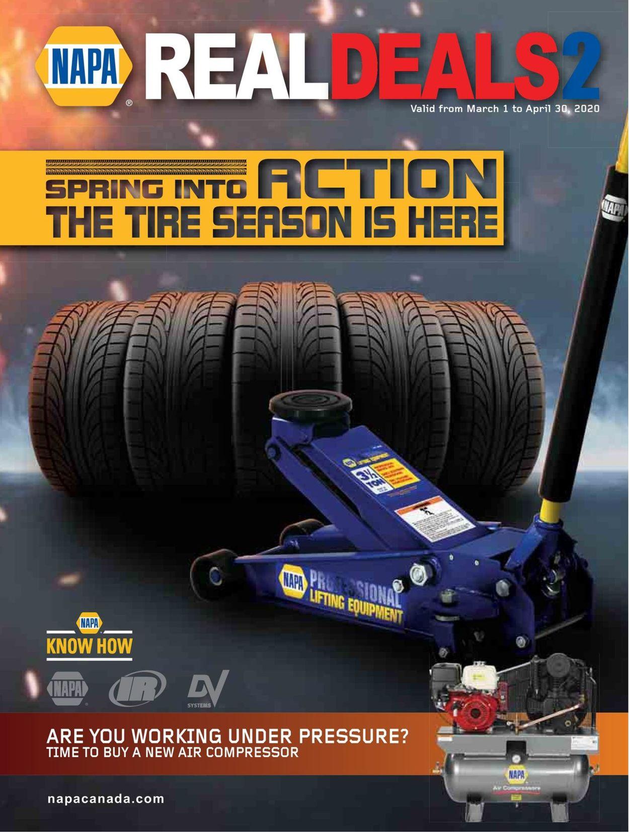 NAPA Auto Parts Flyer - 03/01-04/30/2020