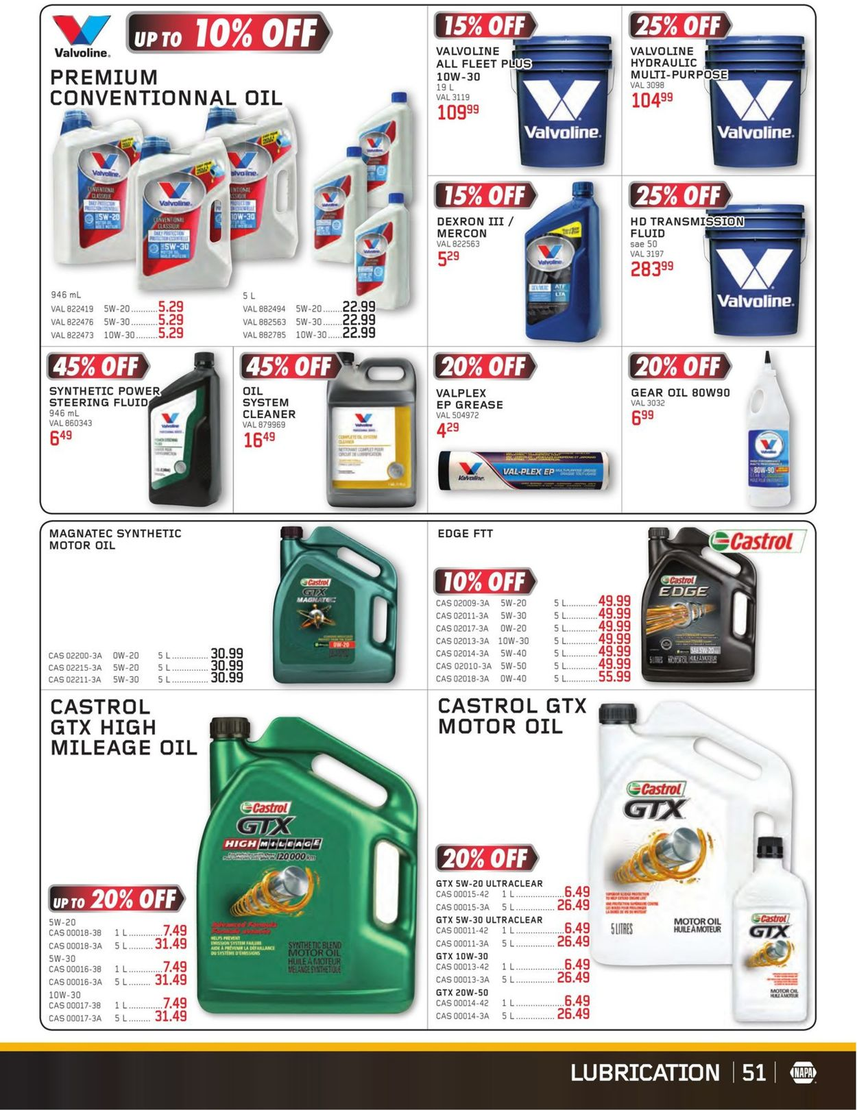 NAPA Auto Parts Flyer - 07/01-08/31/2020 (Page 51)