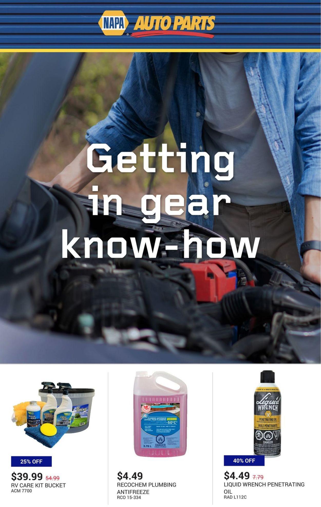 NAPA Auto Parts Flyer - 09/16-09/30/2020