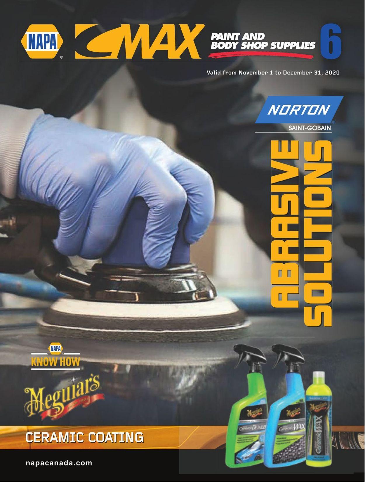 NAPA Auto Parts Flyer - 11/01-12/31/2020