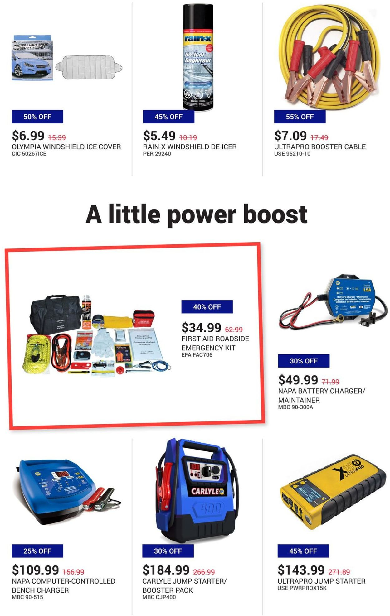NAPA Auto Parts - Christmas 2020 Flyer - 12/01-12/31/2020 (Page 3)