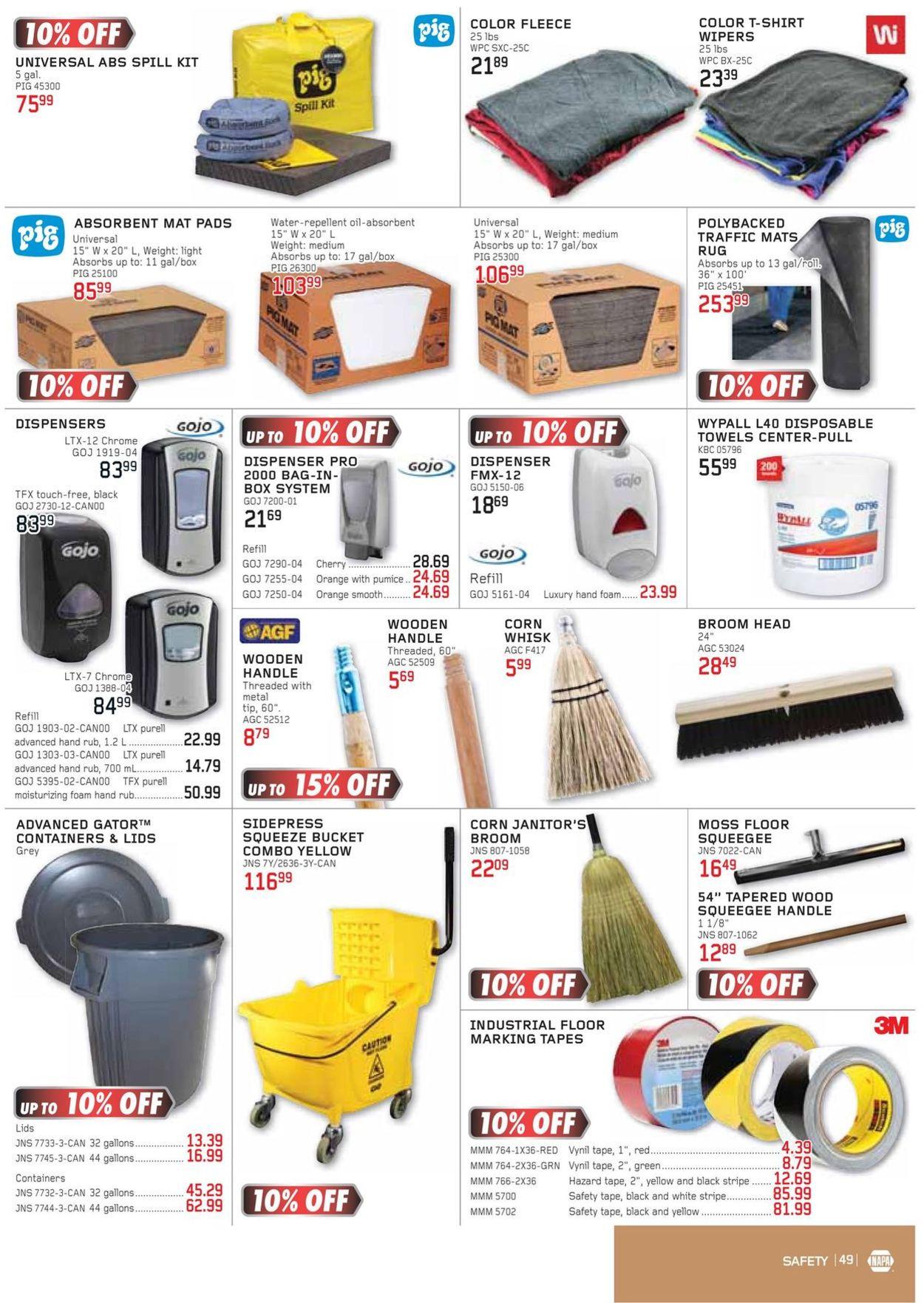NAPA Auto Parts Flyer - 01/01-03/31/2021 (Page 49)