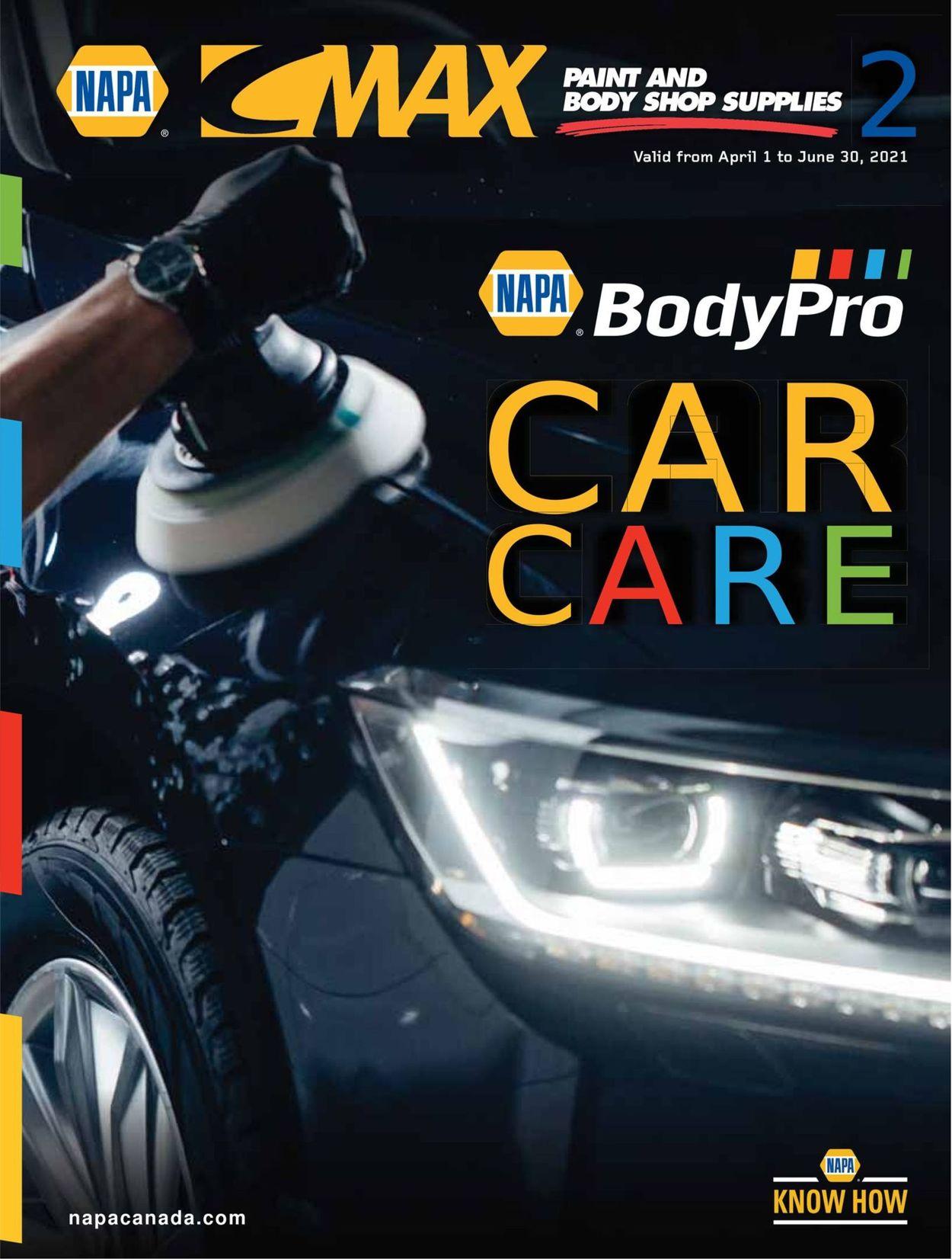 NAPA Auto Parts Flyer - 04/01-06/30/2021