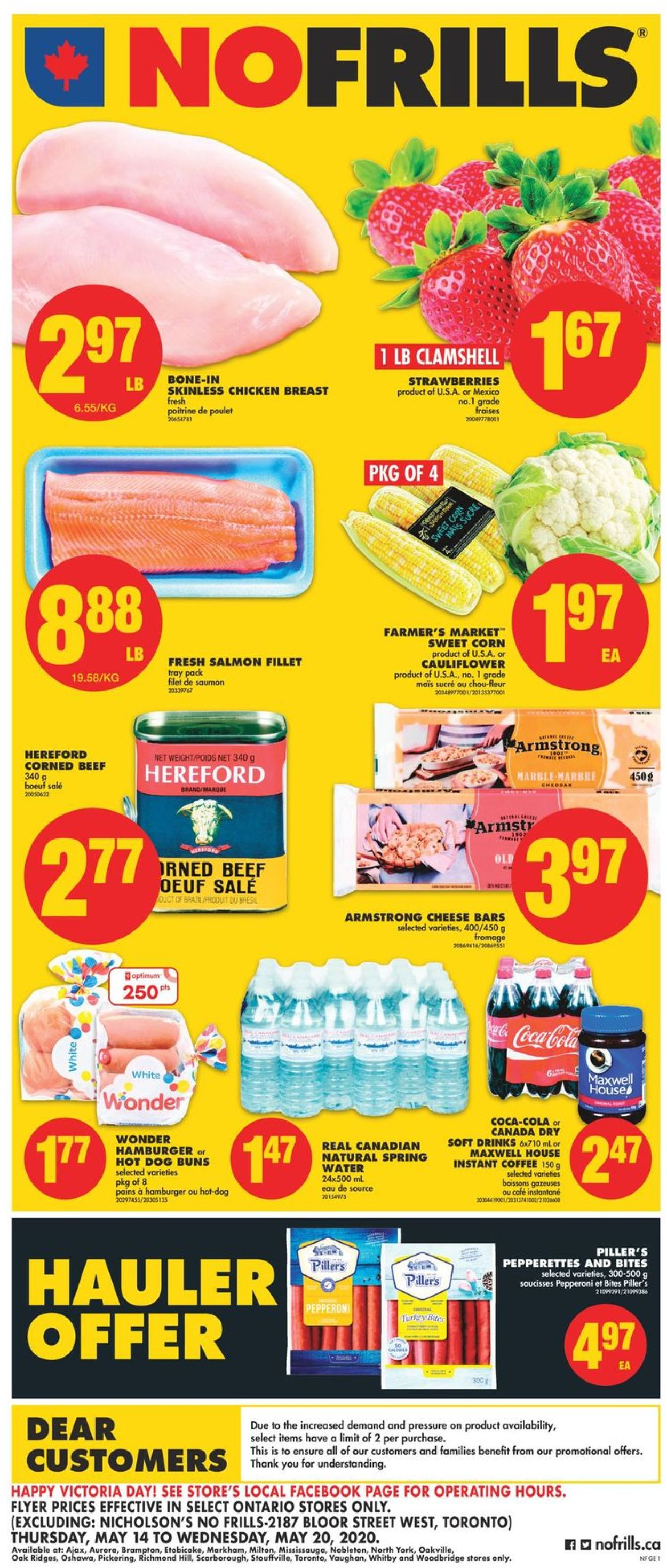 No Frills Flyer - 05/14-05/20/2020