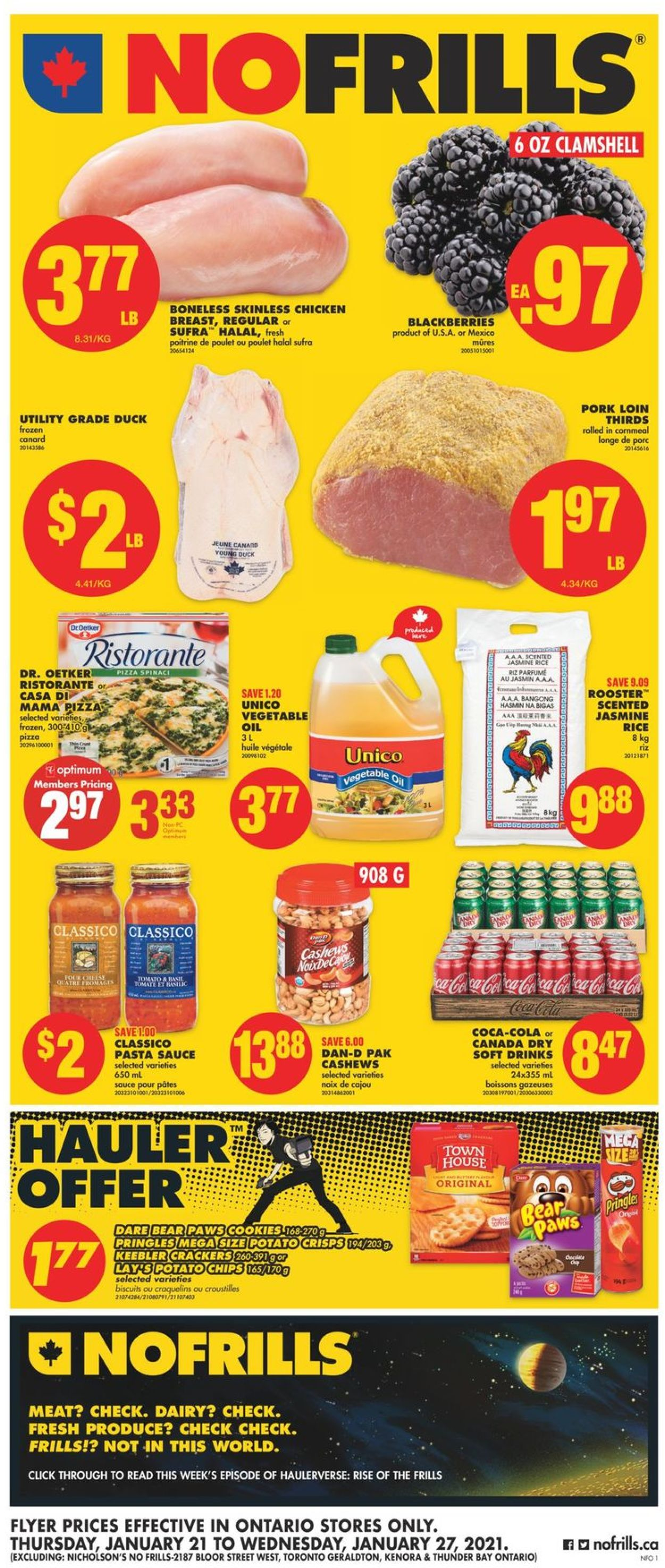 No Frills Flyer - 01/21-01/27/2021