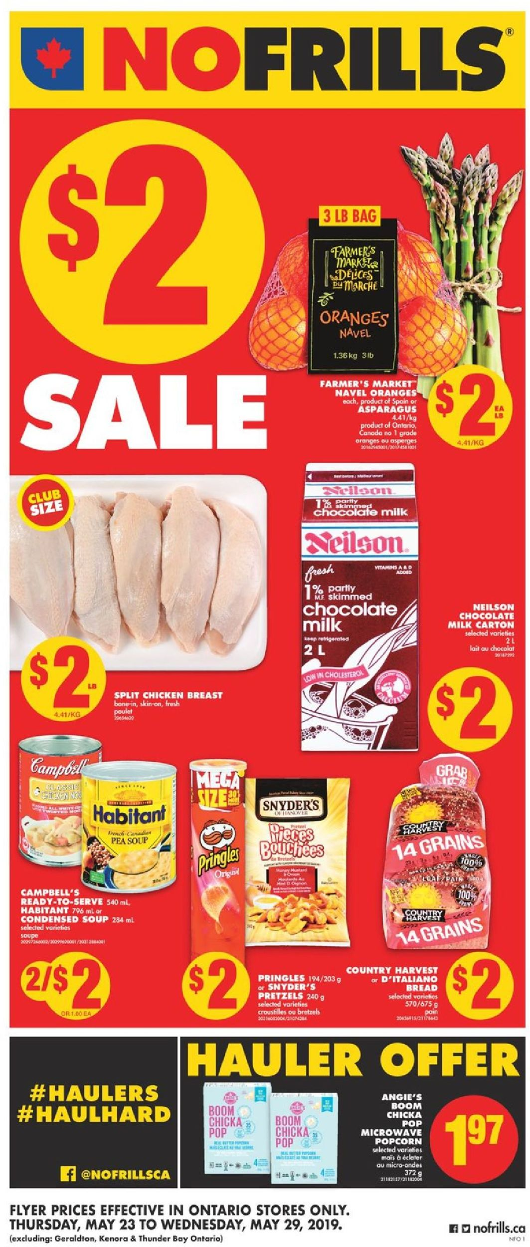 No Frills Flyer - 05/23-05/29/2019