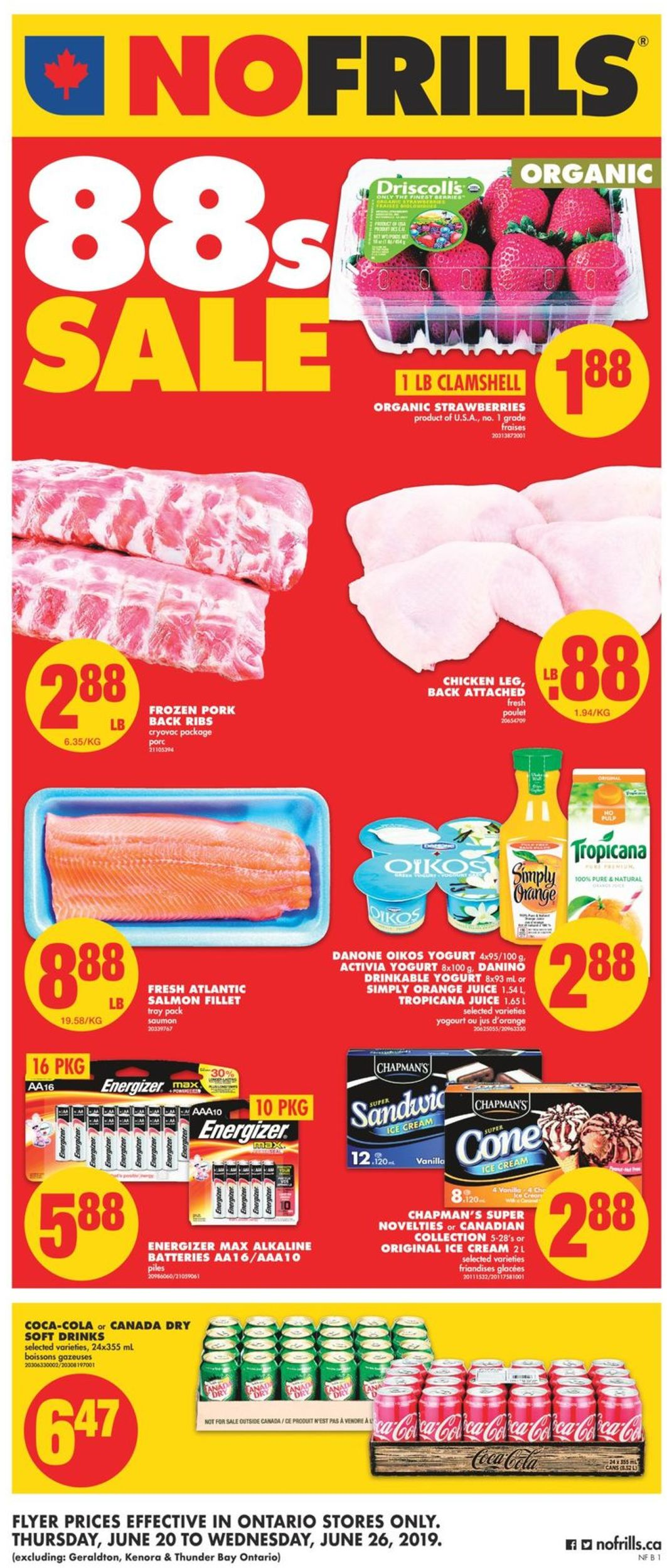No Frills Flyer - 06/20-06/26/2019
