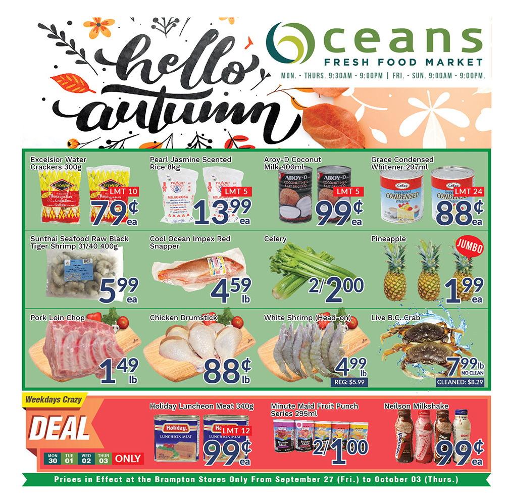 Oceans Flyer - 09/27-10/03/2019