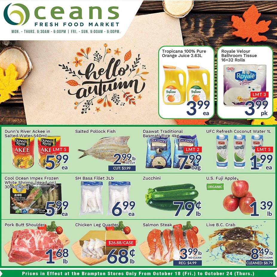 Oceans Flyer - 10/18-10/24/2019