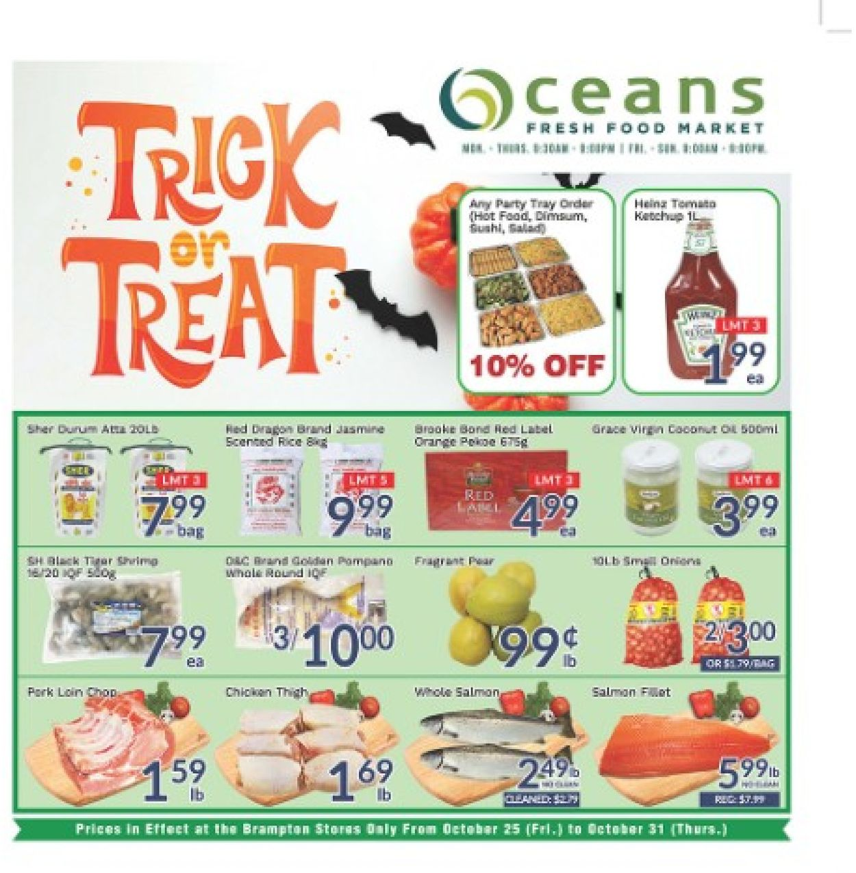 Oceans Flyer - 10/25-10/31/2019
