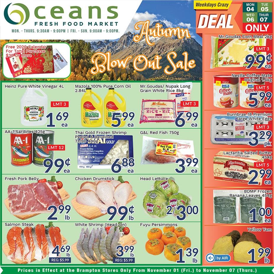 Oceans Flyer - 11/01-11/07/2019