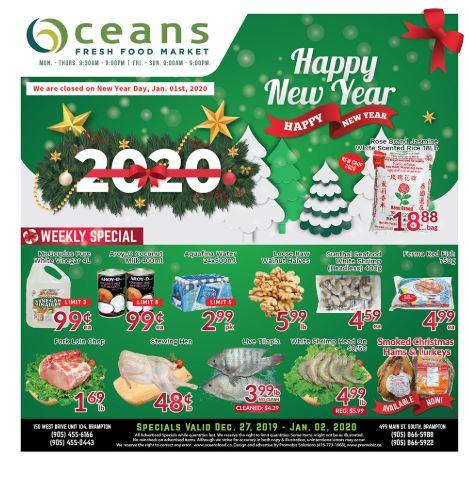 Oceans Flyer - 12/27-01/02/2020