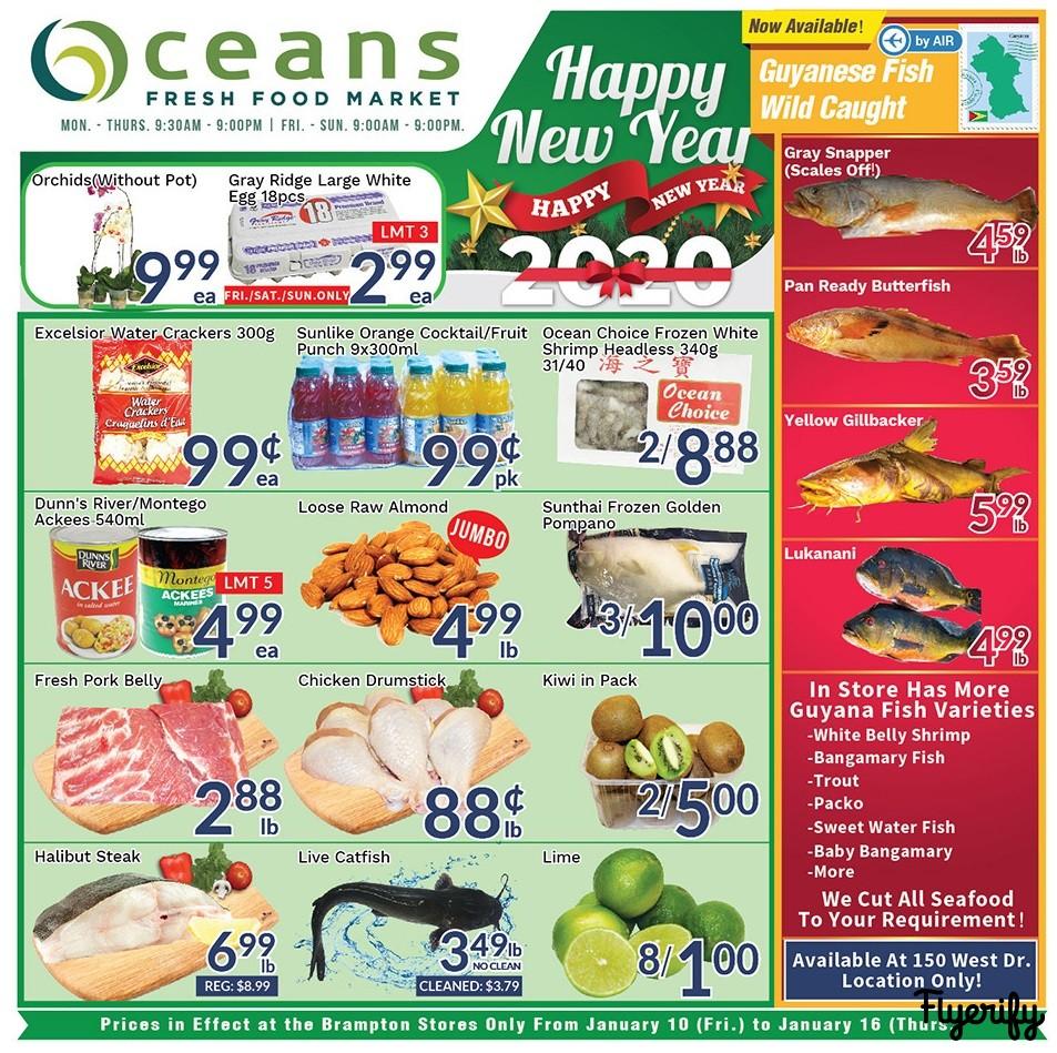 Oceans Flyer - 01/10-01/16/2020