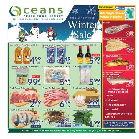 Oceans Flyer - 01/31-02/06/2020