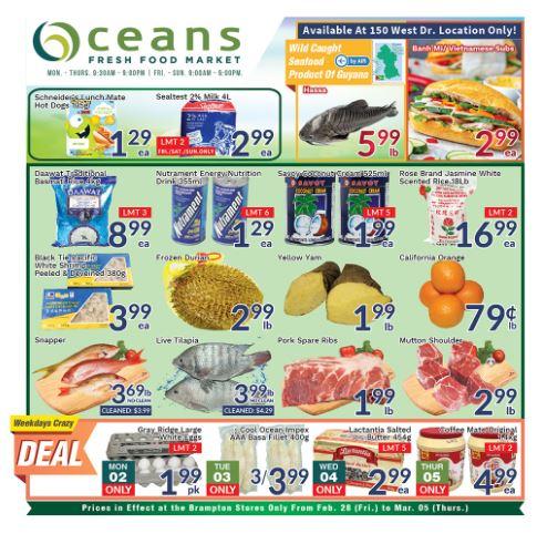 Oceans Flyer - 02/28-03/05/2020