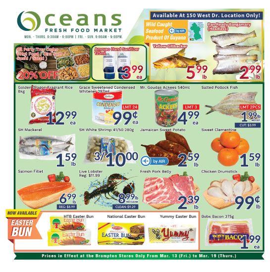 Oceans Flyer - 03/13-03/19/2020