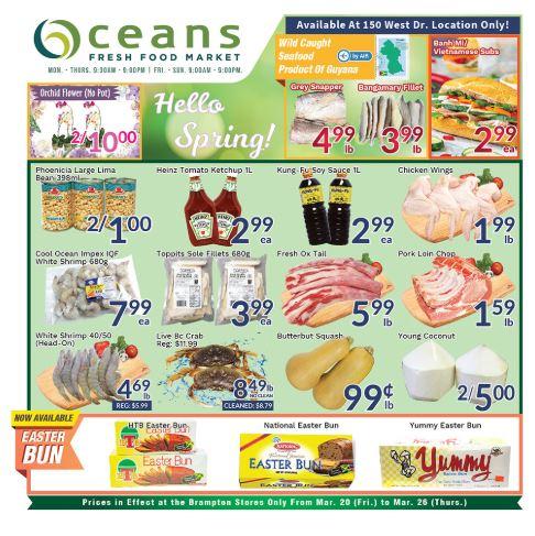 Oceans Flyer - 03/20-03/26/2020