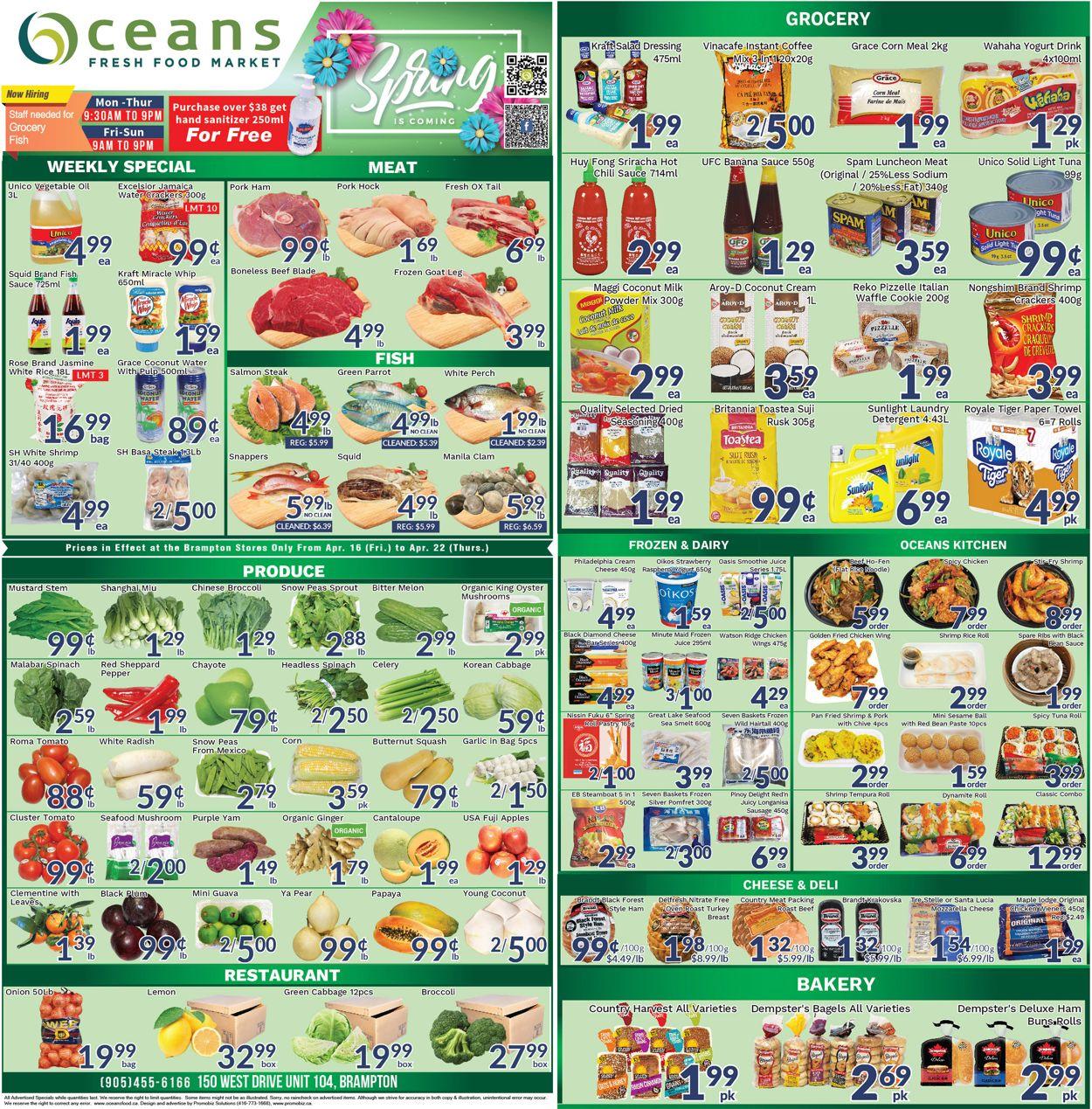 Oceans Flyer - 04/16-04/22/2021