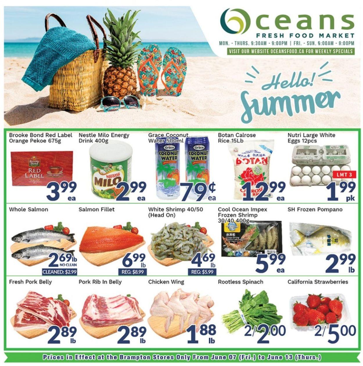 Oceans Flyer - 06/07-06/13/2019
