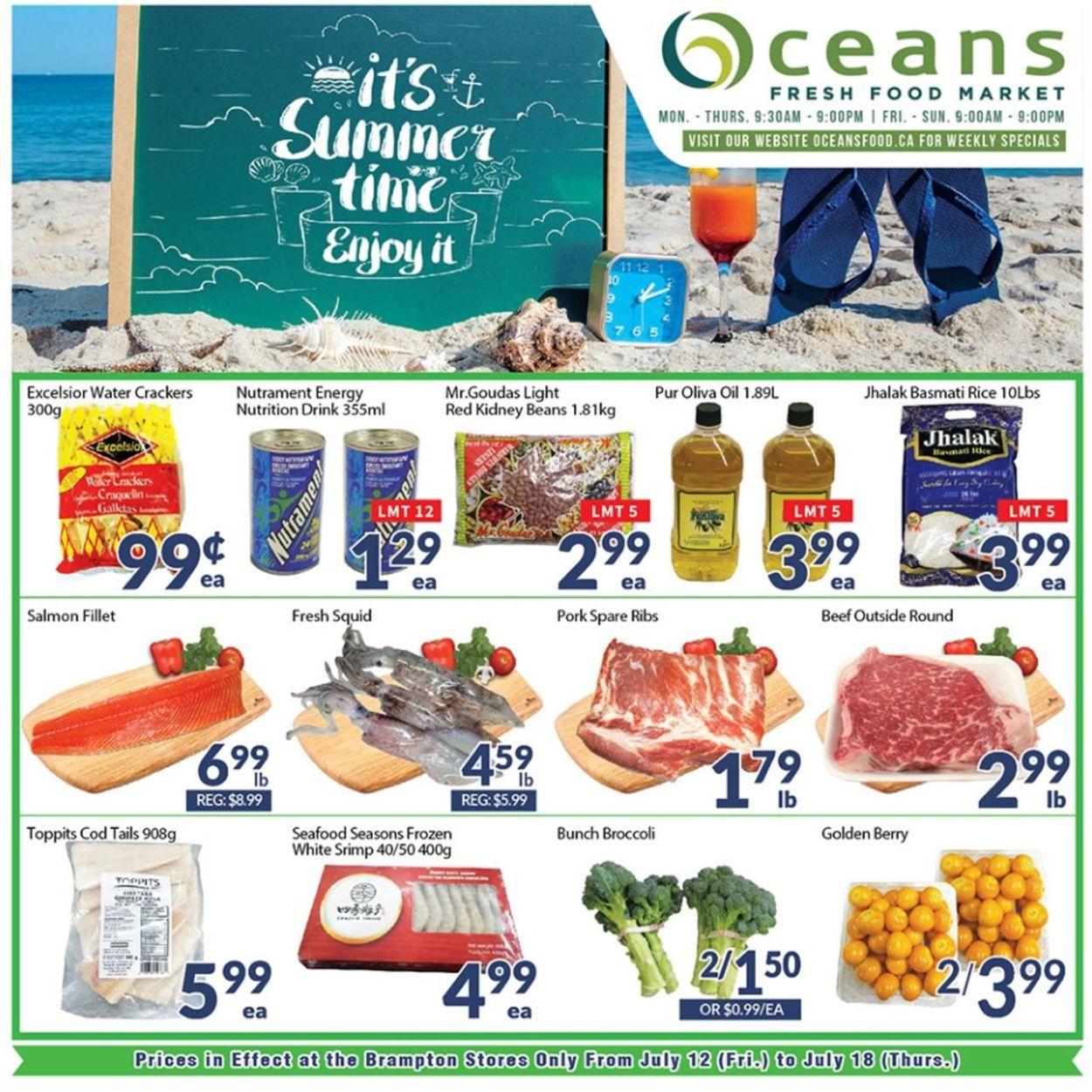 Oceans Flyer - 07/12-07/18/2019