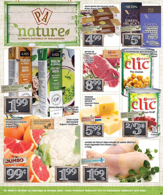 PA Supermarché Flyer - 02/06-02/19/2020