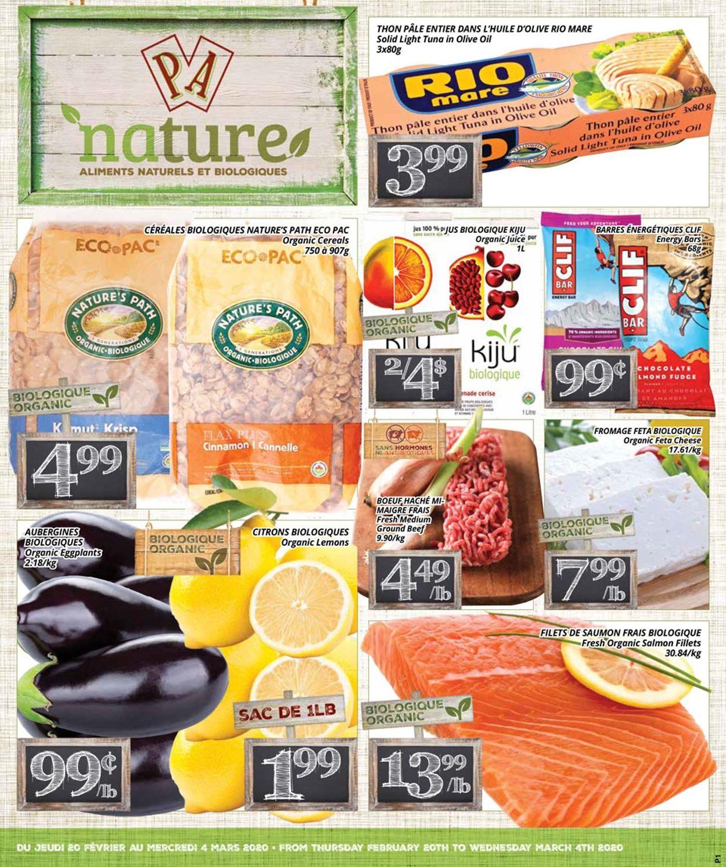 PA Supermarché Flyer - 02/20-03/04/2020