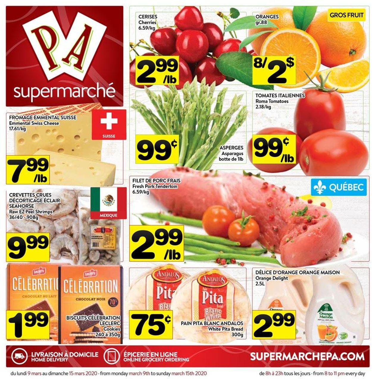 PA Supermarché Flyer - 03/09-03/15/2020