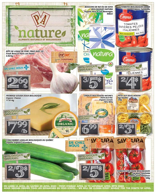 PA Supermarché Flyer - 04/13-04/25/2020