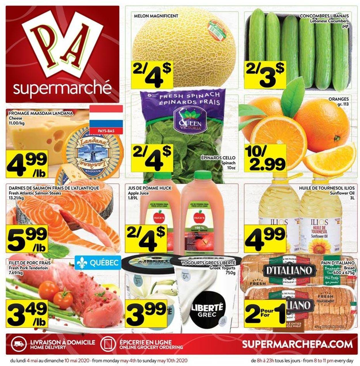 PA Supermarché Flyer - 05/04-05/10/2020