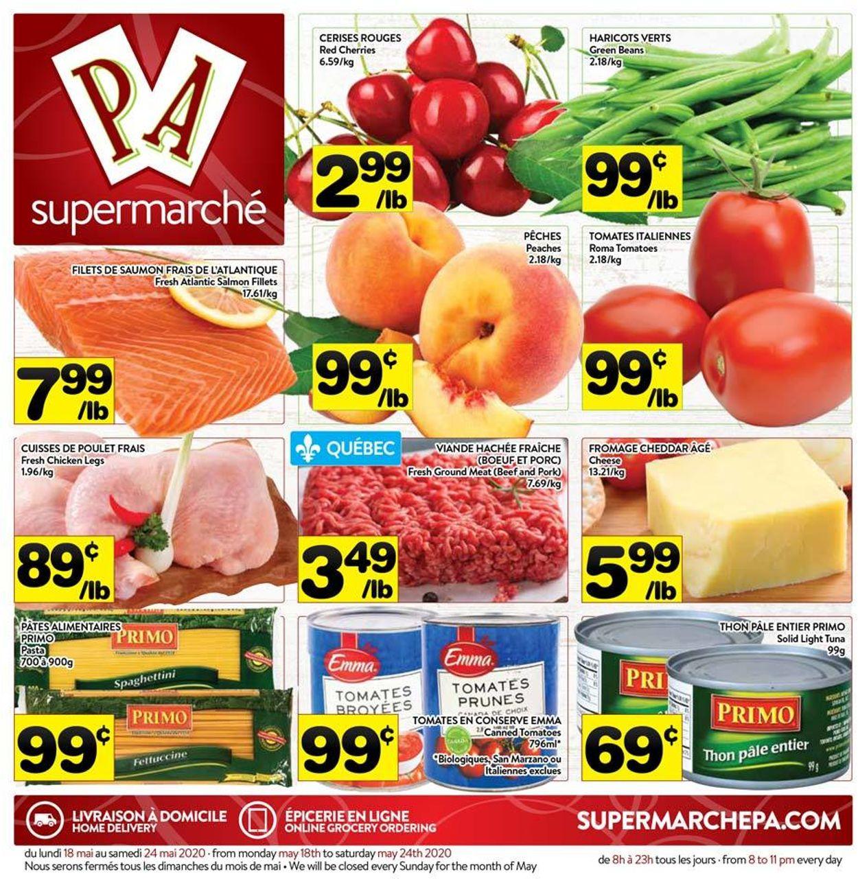 PA Supermarché Flyer - 05/18-05/30/2020