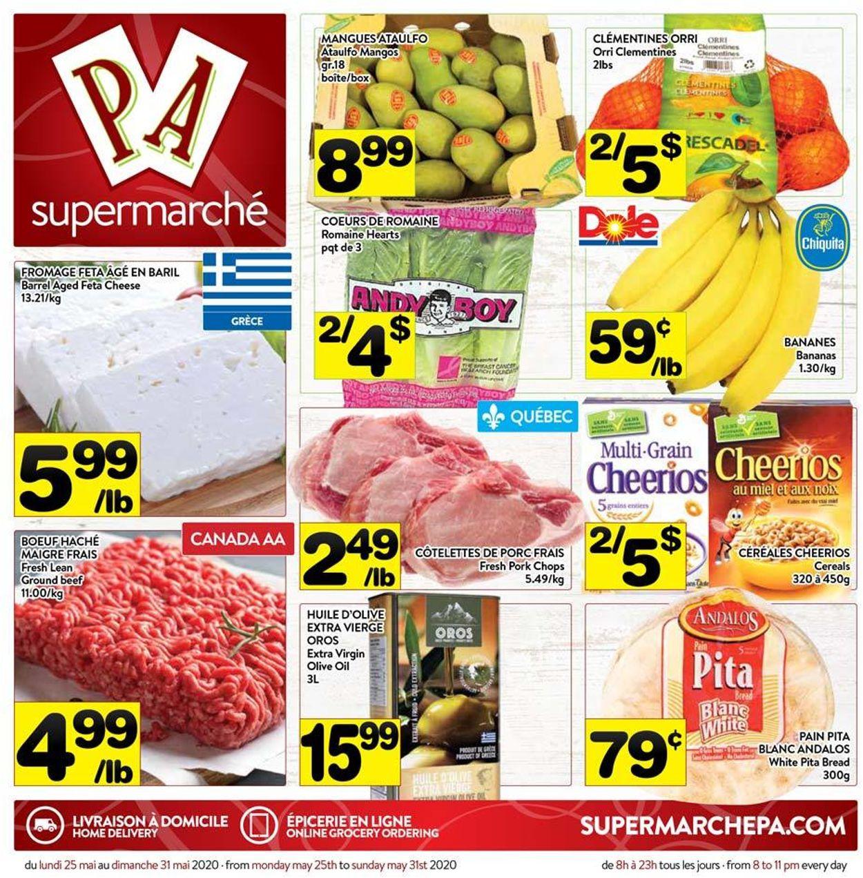 PA Supermarché Flyer - 05/25-05/31/2020