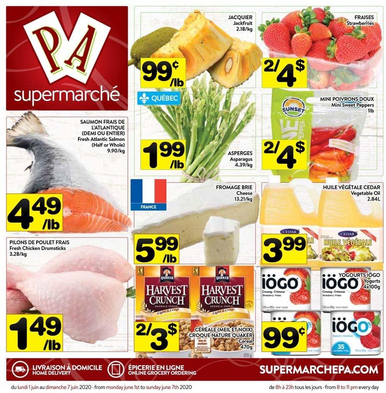 PA Supermarché Flyer - 06/01-06/07/2020