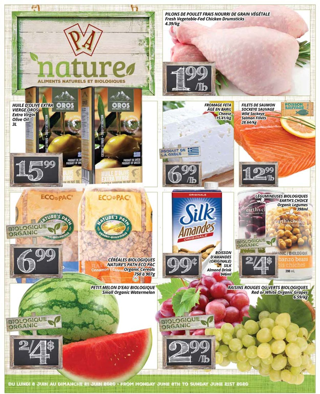 PA Supermarché Flyer - 06/08-06/21/2020