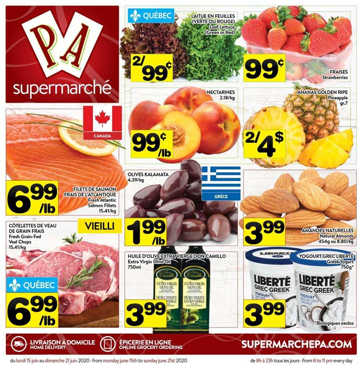 PA Supermarché Flyer - 06/15-06/21/2020