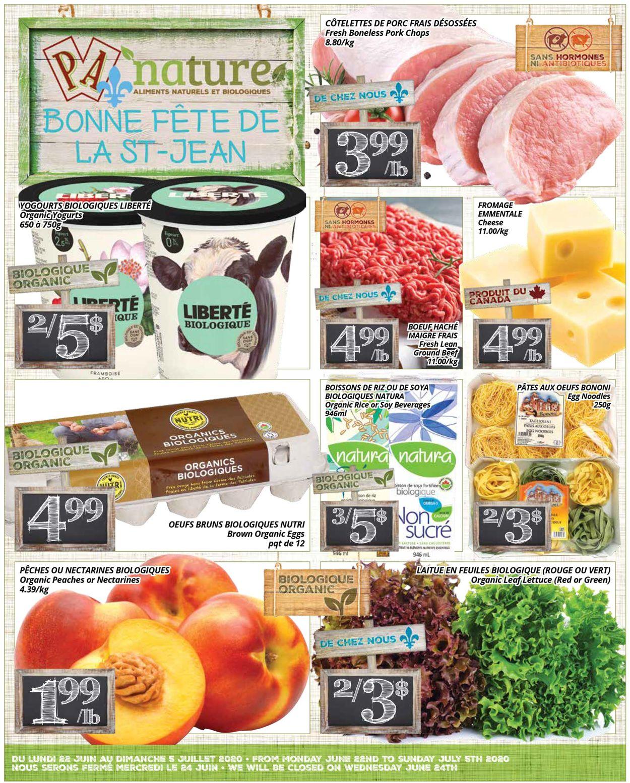 PA Supermarché Flyer - 06/22-07/05/2020