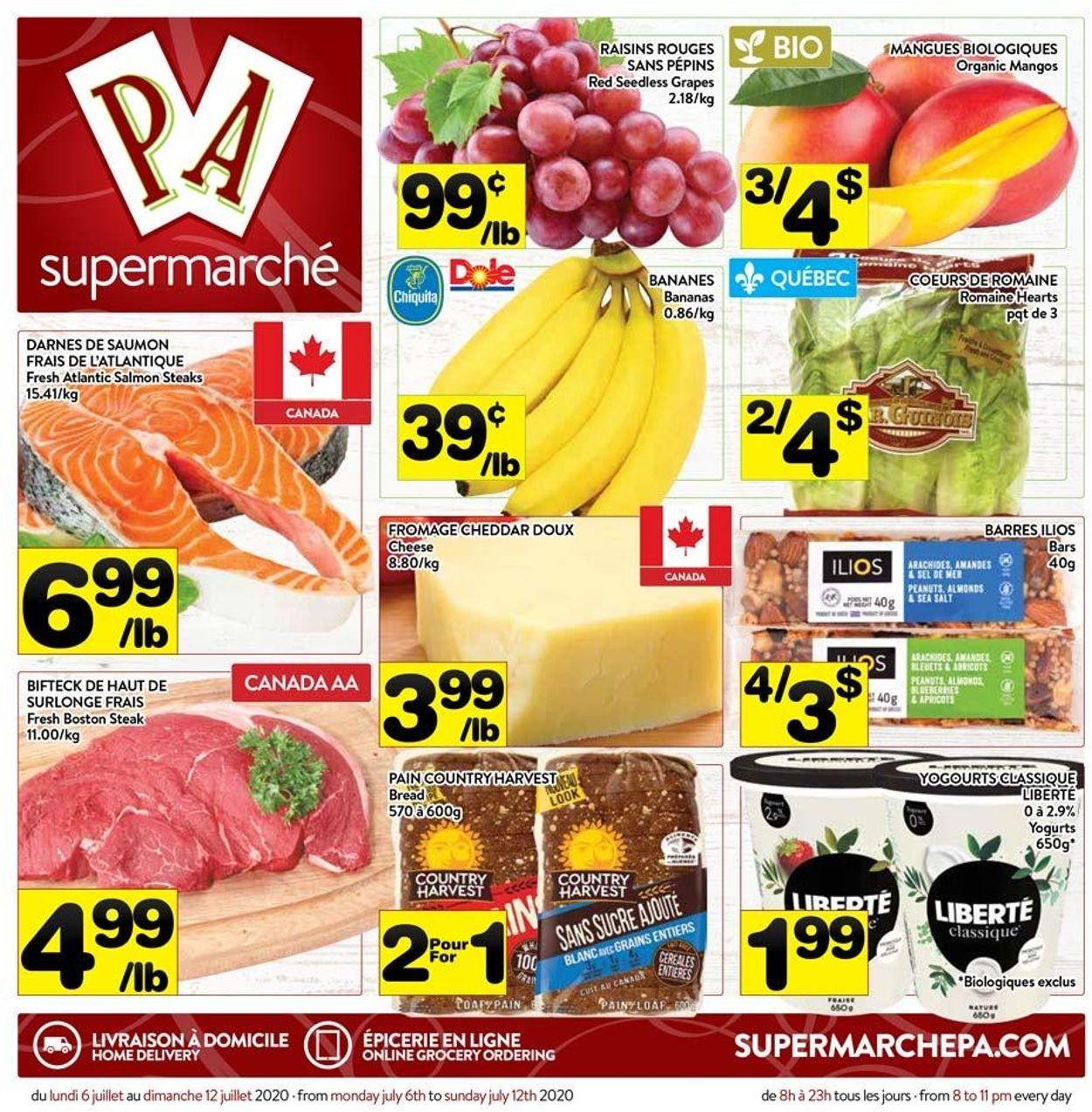 PA Supermarché Flyer - 07/06-07/12/2020