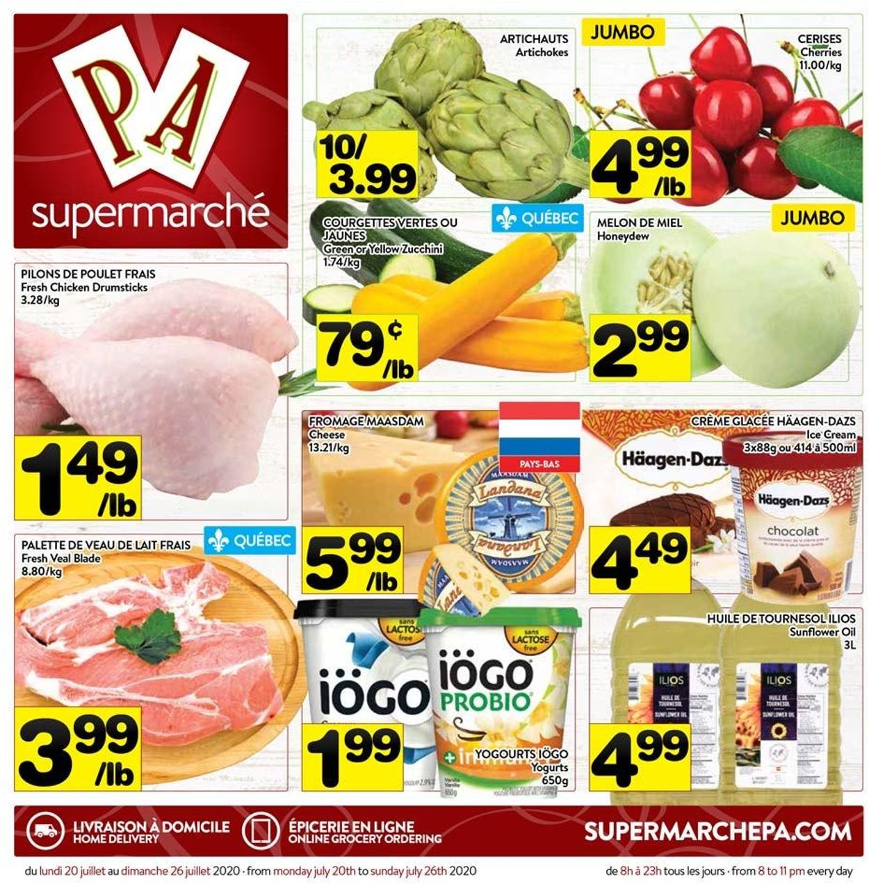 PA Supermarché Flyer - 07/20-07/26/2020