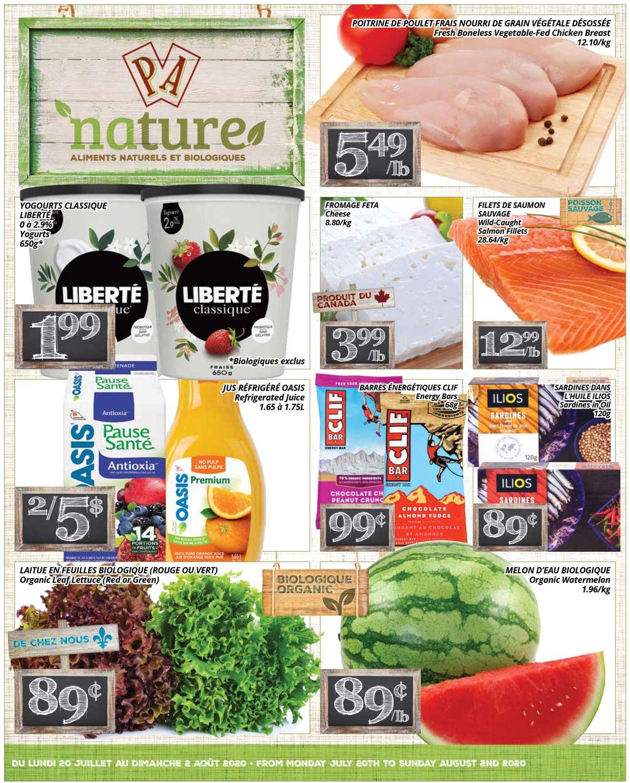 PA Supermarché Flyer - 07/20-08/02/2020