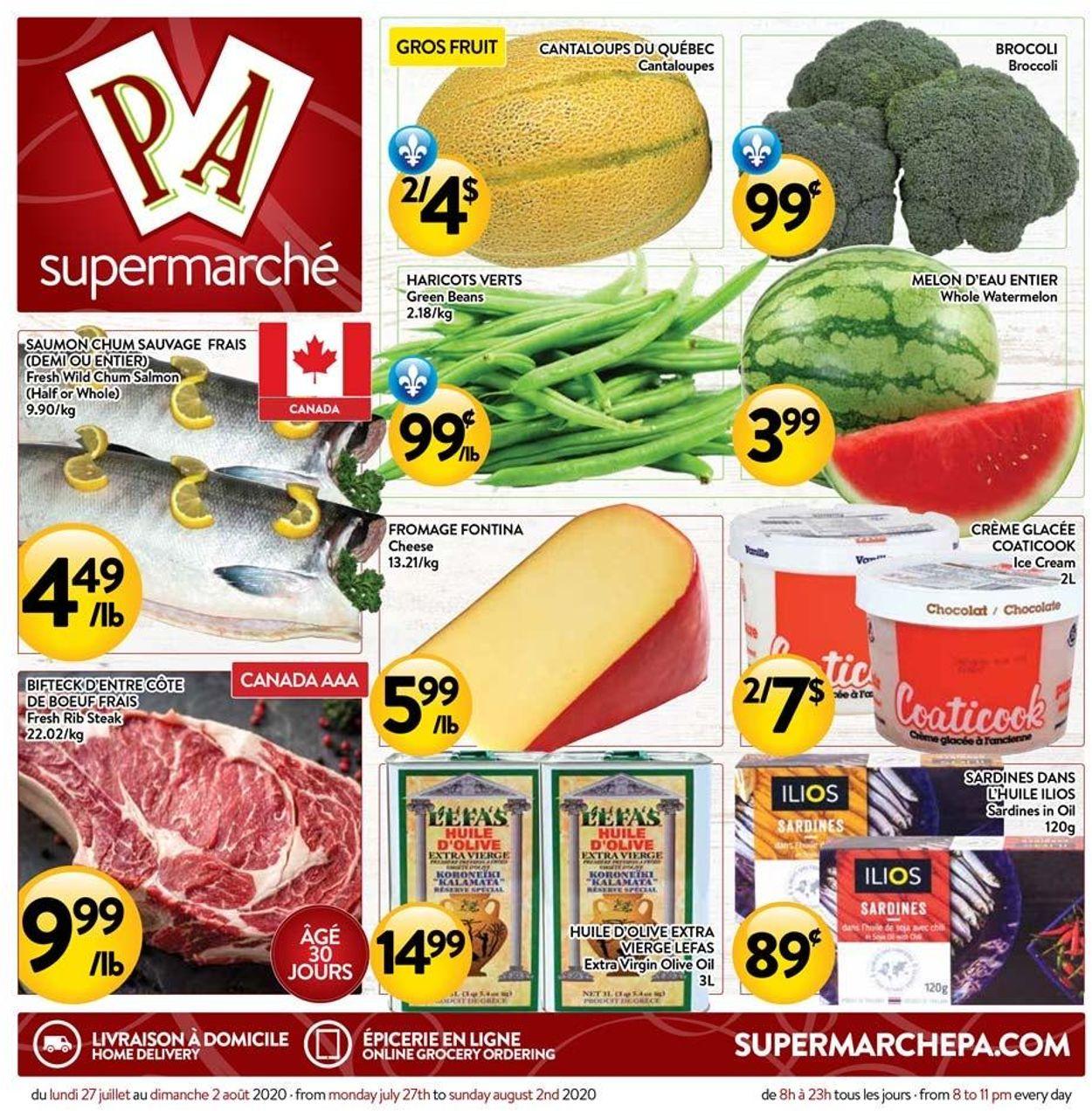 PA Supermarché Flyer - 07/27-08/02/2020
