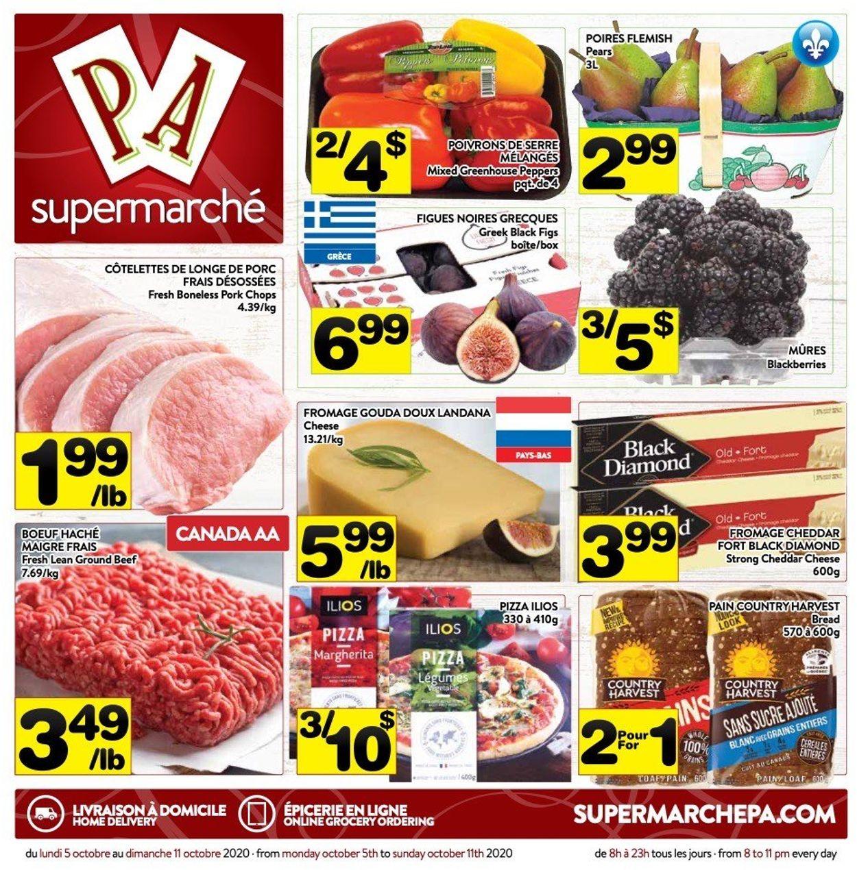 PA Supermarché Flyer - 10/05-10/11/2020